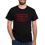 Liberal Hate Wins Dark T-Shirt