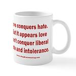 Liberal Hate Wins 11 oz Ceramic Mug