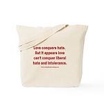 Liberal Hate Wins Tote Bag