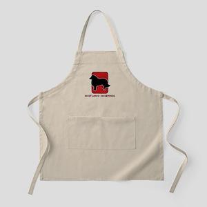 Shetland Sheepdog BBQ Apron