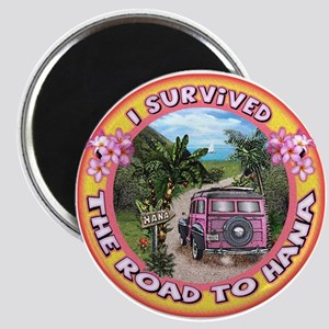 "Magnet ""I survived the road to Hana"""
