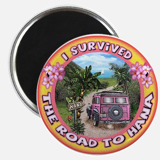 """Magnet """"I survived the road to Hana"""""""