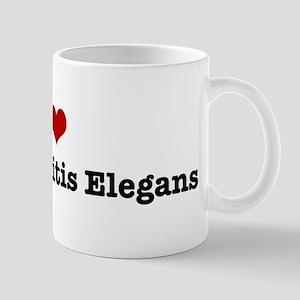I love Caenorhabditis Elegans Mug