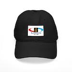 Studio Logo Baseball Hat Black Cap With Patch