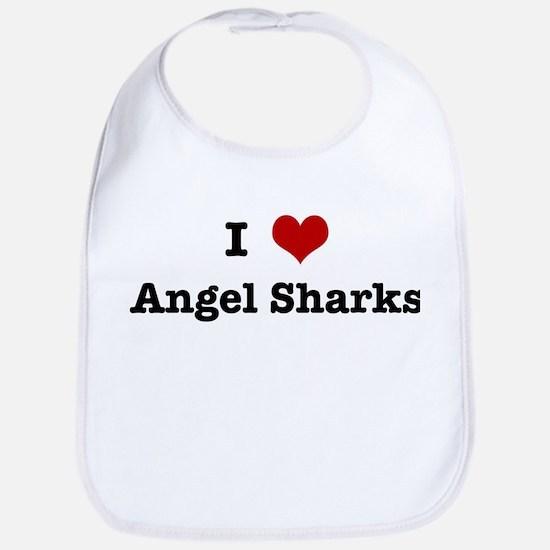 I love Angel Sharks Bib