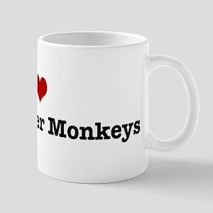 I love Black Howler Monkeys Mug