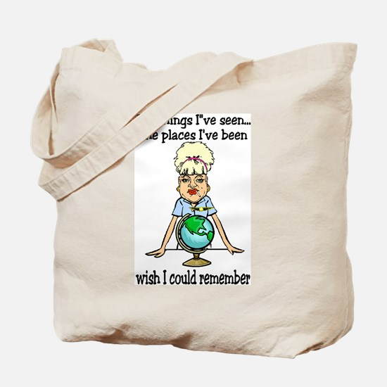Places I've been Tote Bag