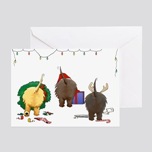 Cairn Terrier Christmas Cards (Pk of 20)