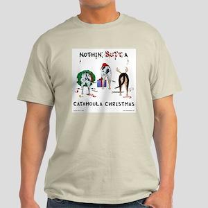 Nothin Butt Catahoula Xmas Light T-Shirt