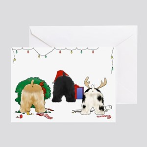 Cocker Christmas Greeting Cards (Pk of 10)