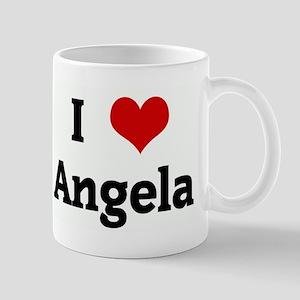 I Love Angela Mug