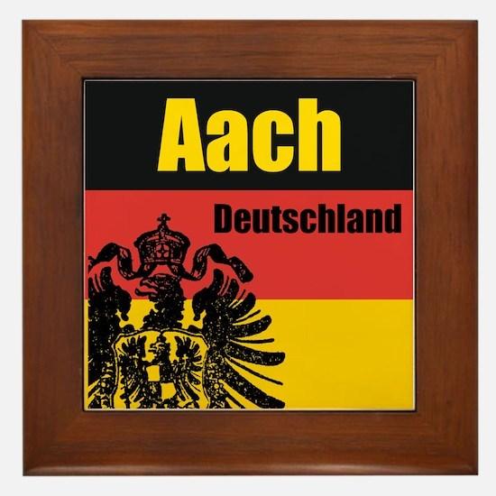 Aach, Deutschland Framed Tile