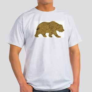 International Bear Ash Grey T-Shirt