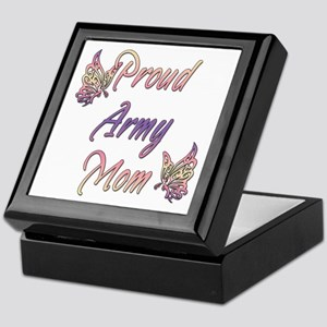 Proud Army Mom Keepsake Box