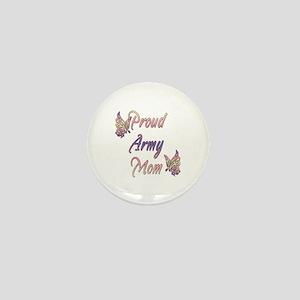 Proud Army Mom Mini Button