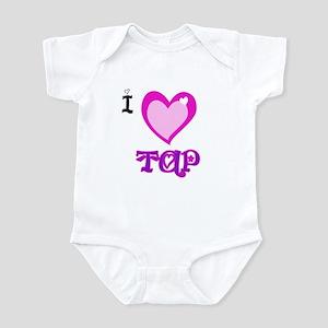 I Love Tap Infant Bodysuit