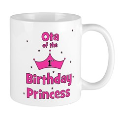 Ota of the 1st Birthday Princ Mug