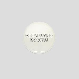 CLEVELAND ROCKS! Mini Button
