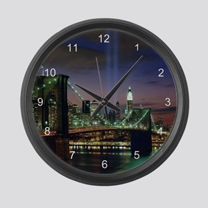 Tribute In Light Large Wall Clock