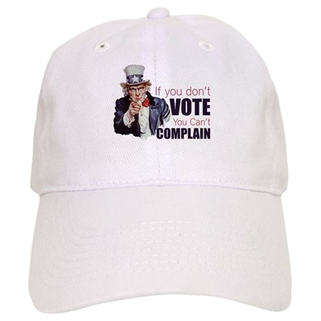 If you don't vote you can't complain Cap