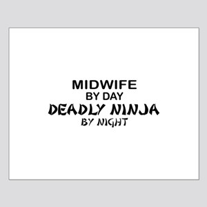 Midwife Deadly Ninja by Night Small Poster