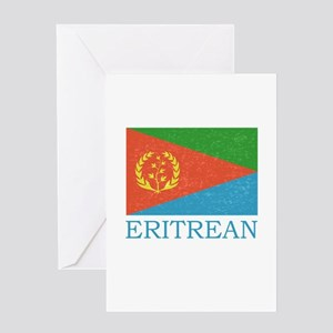 Tigrinya greeting cards cafepress eritrean flag greeting card m4hsunfo