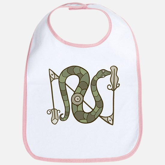 Pictish Snake Bib