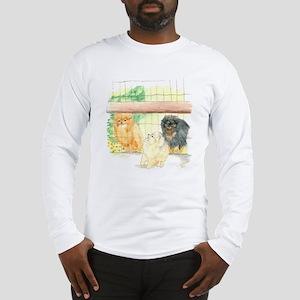 Poms in Yard Long Sleeve T-Shirt