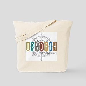 UPNORTH MICHIGAN Tote Bag