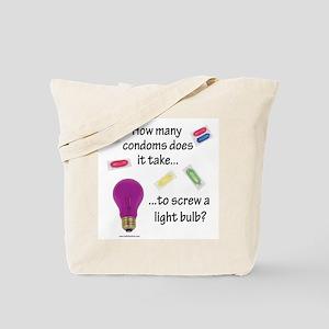 Screw a light bulb Tote Bag