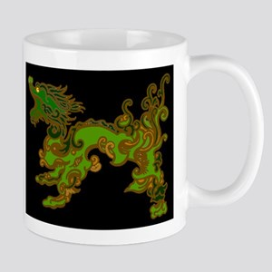 Old Wood Dragon Mug