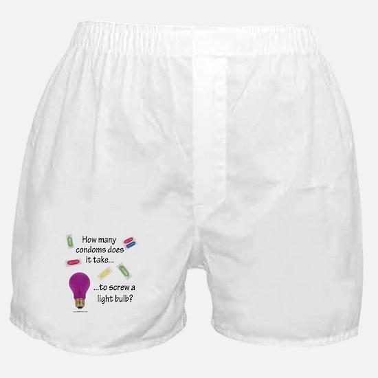 Screw a light bulb Boxer Shorts