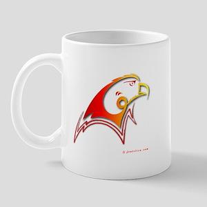Eshgh (Love) Red Eagle Mug