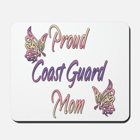 Proud Coast Guard Mom Mousepad