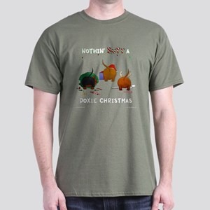 Nothin' Butt A Doxie Xmas Dark T-Shirt