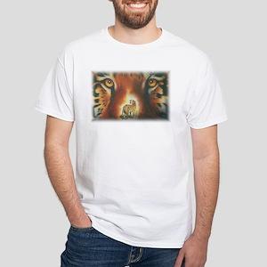 """""""Window"""" White T-Shirt"""