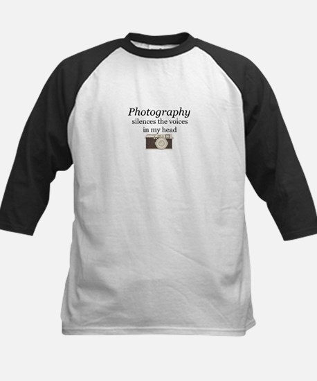 Photography silences the voices in Baseball Jersey