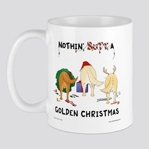 Nothin' Butt A Golden Xmas Mug