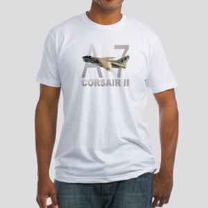 A-7 CORSAIR II Fitted T-Shirt
