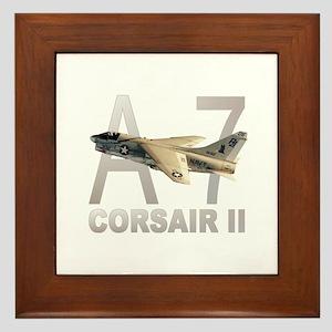 A-7 CORSAIR II Framed Tile