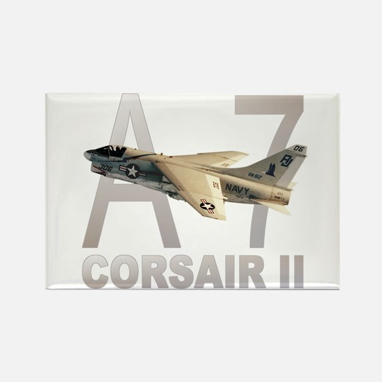 A-7 CORSAIR II Rectangle Magnet (10 pack)