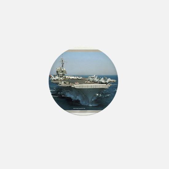USS Kitty Hawk Mini Button