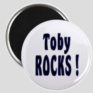 Toby Rocks ! Magnet