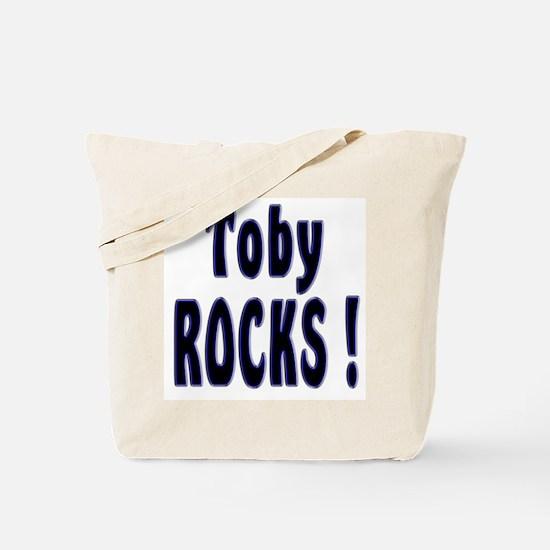 Toby Rocks ! Tote Bag