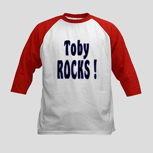 Toby Rocks ! Kids Baseball Jersey