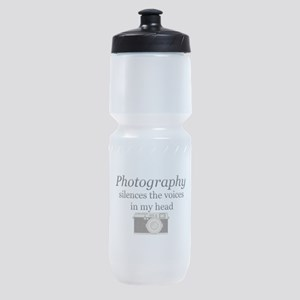 Photography silences the voices in m Sports Bottle