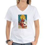 Conjuring Ghosts Women's V-Neck T-Shirt
