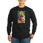 Conjuring Ghosts Long Sleeve Dark T-Shirt