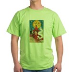 Conjuring Ghosts Green T-Shirt
