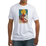 Conjuring Ghosts Fitted T-Shirt